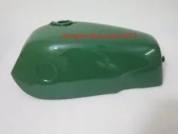 New Norton Fastback Commando Green Painted Petrol Tank