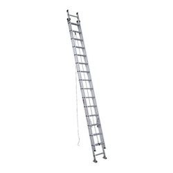 Werner 20 Ft Aluminum Extension Ladder With 225 Lb Load Capacity Type Ii Duty Rating D1220 2 The Home Depot