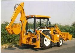 RJMT Backhoe Loader Attachment On Tractor ( JCB Tractor), Capacity: 2-4 Ton