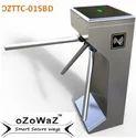Stainless Steel oZoWaZ Waist Height Tripod Turnstile (OZTTC-01SBD), 230VAC