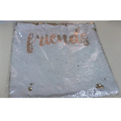 Square Golden Friends Magic Cushions