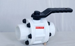Gokul PP Screwed End Ball Valve, Size: 15 To 100mm