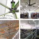 Huge Industrial Altra Hvls Ceiling Fans, Phase: Single / Three