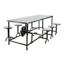 Steel Top Restaurant Table & Chair