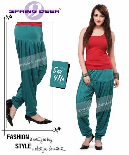 ec40676a23 Stitched Cotton Sea Green Patiala Pant, Rs 135 /piece, Raise ...