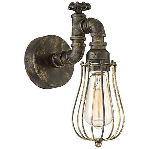 Cool White Vintage Style Wall Lights