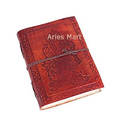Ganesha Embossed Leather Diary