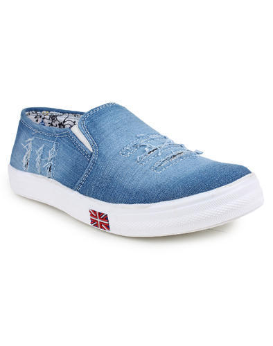 5e5f87c9e3e Loafer Women Denim Jeans Casual Shoes