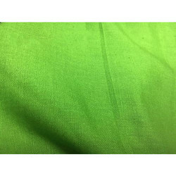 Green Plain Cotton Flex