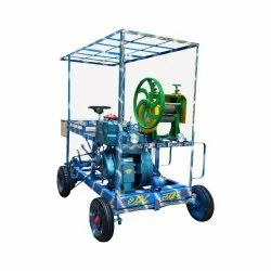 0.5 Hp Mobile Sugarcane Crusher, For Commercial Use, Model Name/Number: 09