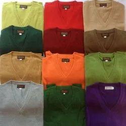 Wool Plain Pashmina Sweaters