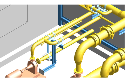 Pipe Support Design Service Pipeline Engineering Services