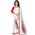 Chiffon Casual Wear Ladies Saree, Without Blouse Piece