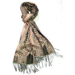 Women Fashion Jamawar Printed Shawls