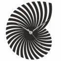 MDF Black Wooden Wall Clock