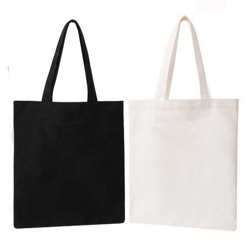 ce34f79c6eeb Black And White Loop Handle Non Woven Bags