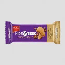 Cream Parle Hide & Seek Choco Rolls Biscuit