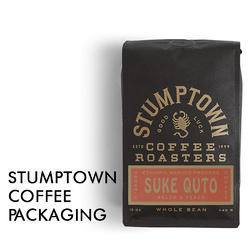 Stump Town Coffee Packaging
