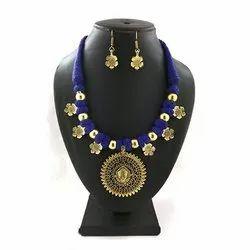 German Gold Thread Necklaces Set
