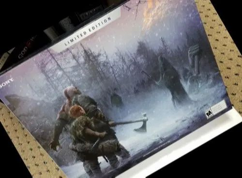 Sony Playstation 4 Pro 1tb God Of War Limited Edition Console