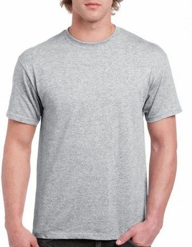 798234eac6e Grey T Shirt at Rs 180  piece