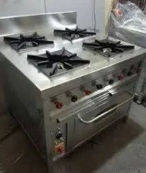 4 Burner Cooking Range With Oven
