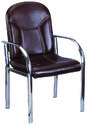 Brown Color Visitor Chair Model No 7366