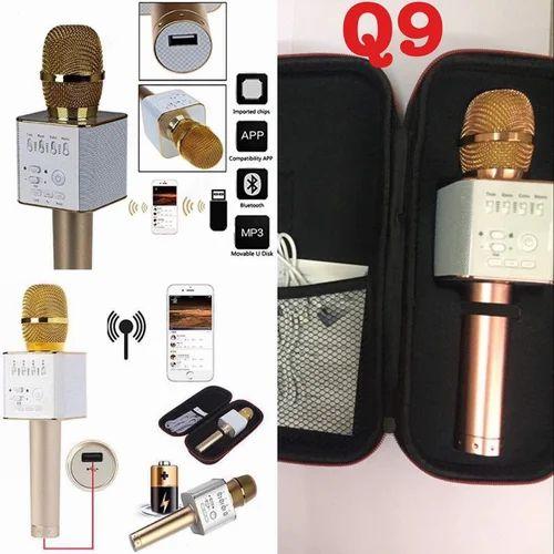 Q9 Karaoke Mic With Bluetooth Speaker