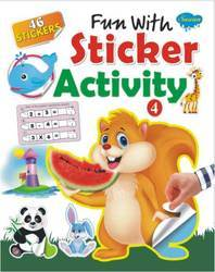 Fun With Sticker Activity Book