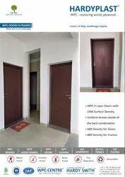3 Layer Brown WPC Doors