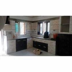 Pvc L Shape Modular Kitchen Cabinet Rs 850 Square Feet Bajrang
