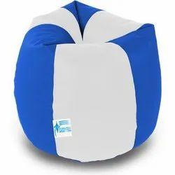 Caddy Blue White Large Bean Bags