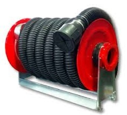 Hose Reel With Suction