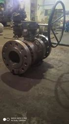 SS Trunnion Mounted Ball Valve