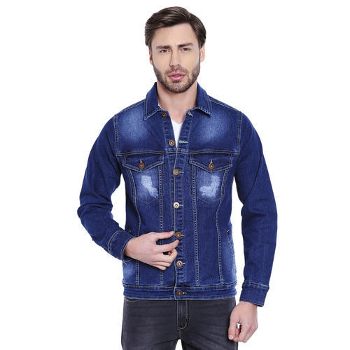 54d06ed9a11 Small Full Sleeve Mens Denim Jacket
