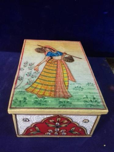 WHITE PEACOCK Multicolor Jewellery Box