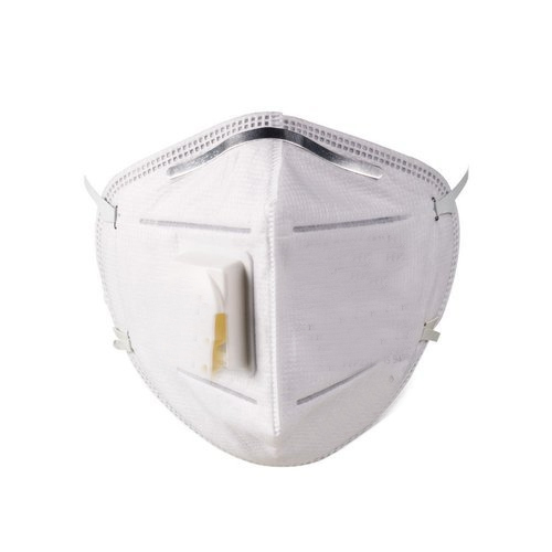 Small And Medium Non-Woven White Dust Protect Mask
