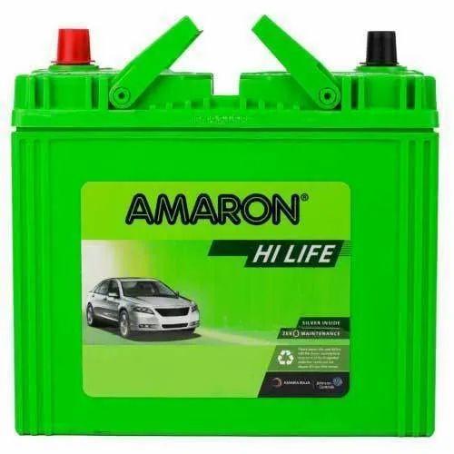 Car Amaron Automotive Battery, Battery Type: Acid Lead Battery