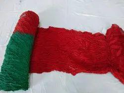 EMPIRE CREATION Wedding Wear Gaji Silk Bandhani Saree, 5.5 m (separate blouse piece)