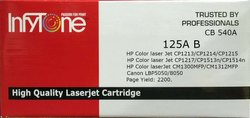125A B (CB 540A) Compatible Colour Toner Cartridge For HP Printers
