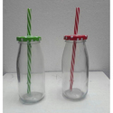 Mason Jars With Straw