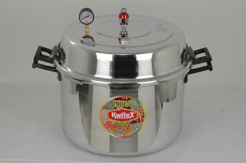 60 Litres Aluminum Jumbo Pressure Cooker (63 Quarts)