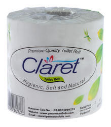 Claret High Quality Soft Hygienic Toilet Roll 350 Pulls 2 Ply
