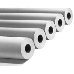 Plain White Jumbo Xerox Paper Roll, GSM: 80 - 120 GSM