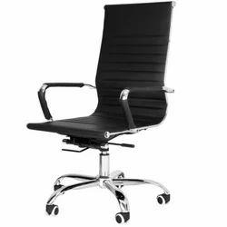 Chrome Finish Ergonomical Chair