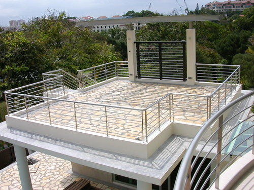 Stainless Steel Roof Railing