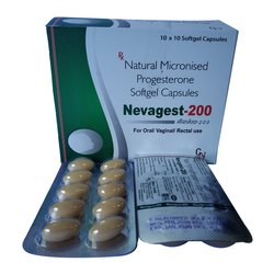Nevagest 200 Mg Soft Gelatin Cap.