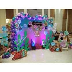 Colorful Marriage Hall Decoration Service, For Home, Restaurant