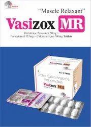 Diclofenac Pot. 50mg  Paracetamol 325mg  Chlorzoxazone 500mg