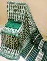 Bagru Hand Block Printed Casual Wear Cotton Mulmul Saree